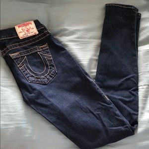 True Religion jeggings size 25